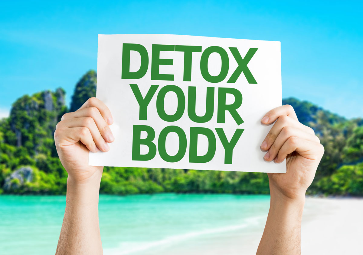 Easy Detox At Tropical Beach Card